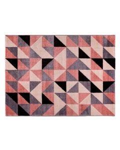 Tapete Magnifique 1,00X1,50M Havan - Triângulos Rose