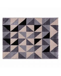 Tapete Magnifique 1,33X1,90M Havan - Triângulos Cinza