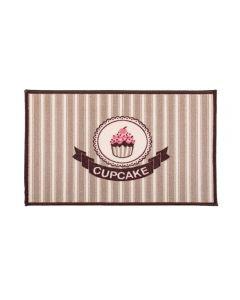Tapete Napoli 50X70cm Antiderrapante Para Cozinha - Cupcake