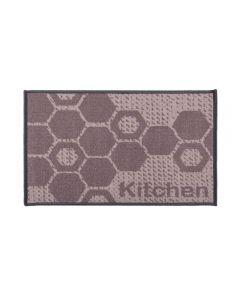 Tapete Napoli 50X70cm Antiderrapante Para Cozinha - Hexagonos Kitchen