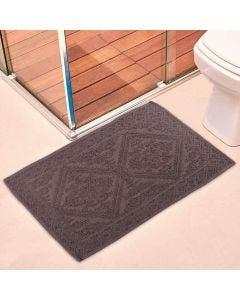 Tapete Para Banheiro Mahal 50x80cm Havan - Cinza
