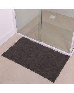 Tapete Para Banheiro Mahal 50X80cm Havan - Cinza Claro