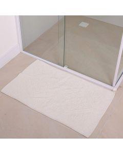 Tapete Para Banheiro Mahal 50x80cm Havan - Branco 2062