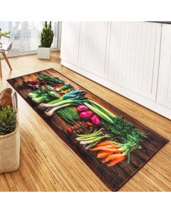 Tapete para Cozinha Veneza 0,45x1,20m Havan - Legumes