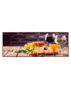 Tapete Para Cozinha Veneza 0,45X1,20M Havan - Vinho