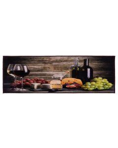 Tapete Para Cozinha Veneza 0,45X1,20M Havan - Vinho e Queijo