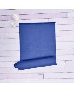 Tapete Para Yoga 61X1,73M Retangular Pvc Havan - Azul Marinho