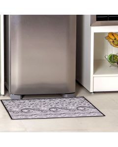 Tapete Provence 50x75cm para Cozinha Havan - Cinza Claro