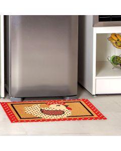 Tapete Renaissance 50x90m para Cozinha J. Serrano - Vermelho