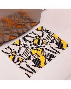 Tapete Tropical 43x65cm para Cozinha - Amarelo