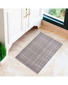 Tapete Tropical 43x65cm para Cozinha - Tecido Cinza