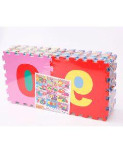 Tapete em EVA Alfanumérico com 36 Peças Milly Toy's - DIVERSOS