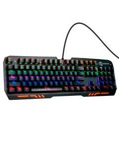 Teclado Gamer N-Keys Shooter Mecânico ELG - Preto