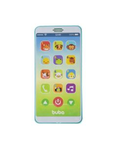 Telefone Infantil Baby Phone 6841 Buba Baby - Azul