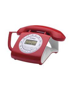 Telefone Intelbras TC8312 - Vermelho