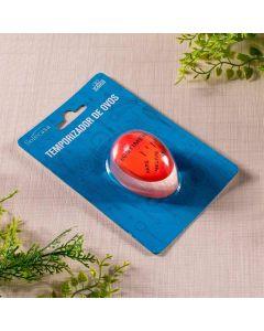 Temporizador de Ovos Solecasa - Vermelho