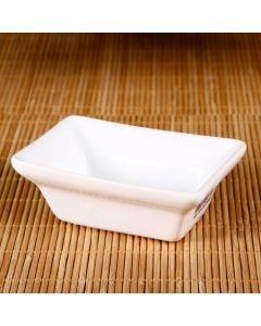 Tigela Retangular Branca para Shoyo  Scalla  - Ceramica