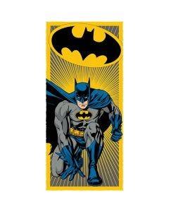 Toalha Banho Felpuda Batman Lepper - Amarelo
