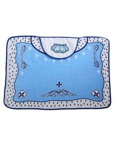 Toalha de Banho 70x90cm com Forro em Fralda Reininho - Azul