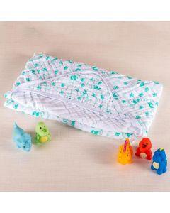Toalha De Banho Bebê 85Cm X 85Cm Compose Soft Minasrey - Verde
