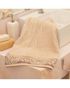 Toalha de Banho Aramis Karsten - Marrom Claro