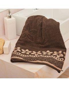 Toalha de Banho Cindy Havan - Marrom Escuro