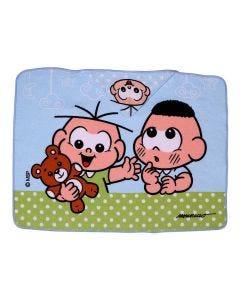 Toalha de Banho com Capuz Turma da Mônica - Cebolinha