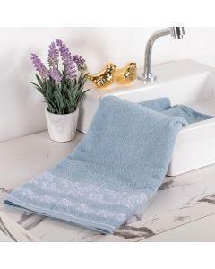 Toalha de Banho Flora - Azul