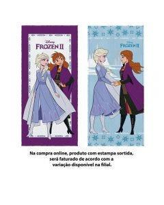 Toalha De Banho Frozen Felpuda Lepper - Sortido
