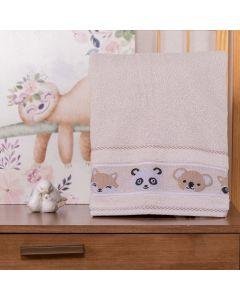 Toalha de Banho Infantil Cute Baby - Gelo