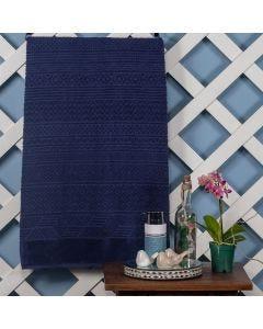 Toalha De Banho Kansas 86cm x1,50m Karsten - Azul Marinho