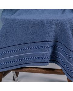 Toalha De Banho Olimpia 68Cm X 1,30M Havan - Azul Marinho