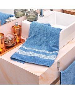 Toalha de Banho Oriente Havan - Azul Indigo