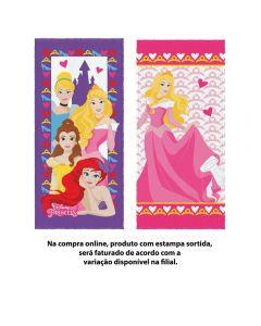 Toalha De Banho Princesas Lepper - Sortido