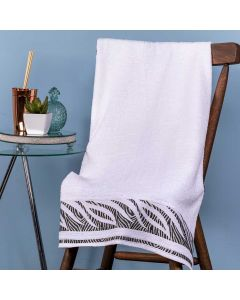 Toalha De Banho Savana 67cm x 1,35m Karsten - Branco