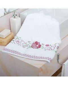 Toalha de Banho Yuna Karsten - Branco 1