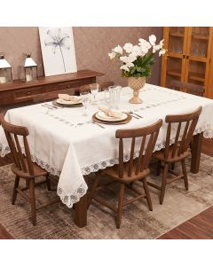 Toalha de Mesa 1,60x2,50m Renda Guipir Finecasa - Arabesco