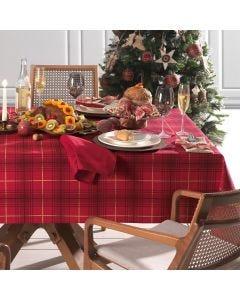 Toalha de Mesa Natal Redonda 1,60m Sempre Limpa Karsten - Tradicional