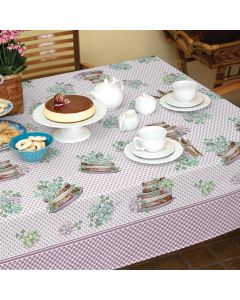 Toalha de Mesa Quadrada 1,40x1,40m Lepper - Naked Cake