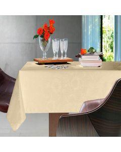 Toalha de Mesa Redonda 1,78m Easy Wash Karsten - Siena Natural