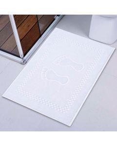 Toalha de Piso Atoalhado - Branco