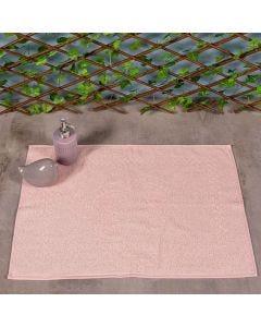 Toalha de Piso Atoalhado - Rosa Millenial
