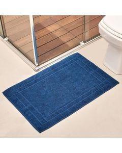 Toalha de Piso Sofisticata - Azul Infinito