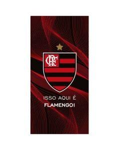 Toalha de Praia Clubes de Futebol Döhler - Flamengo 10