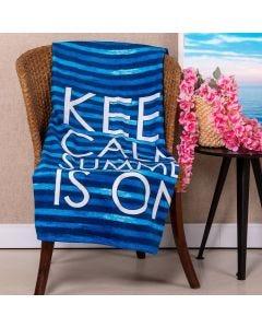 Toalha De Praia Karsten - Keep Calm