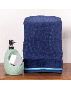 Toalha de Rosto 450x75cm Boston - Azul