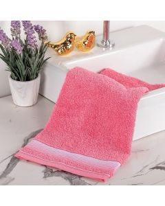 Toalha de Rosto Colors - Rosa