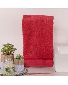 Toalha de Rosto Eleganz - Terracota