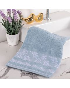 Toalha de Rosto Flora - Azul