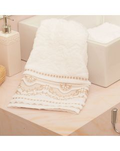 Toalha de Rosto Imperial Radiance Havan - Off White